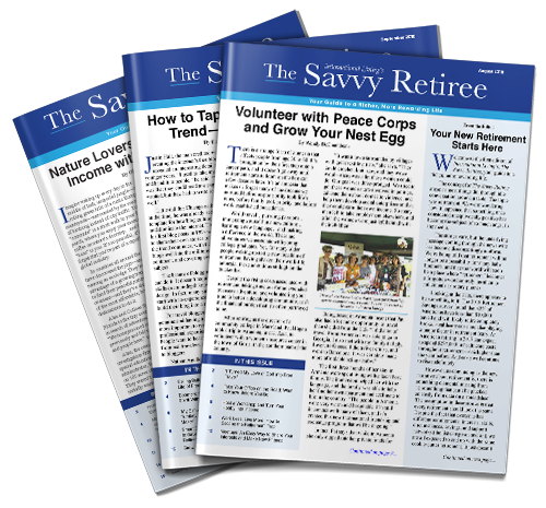 subscribe to the savvy retiree