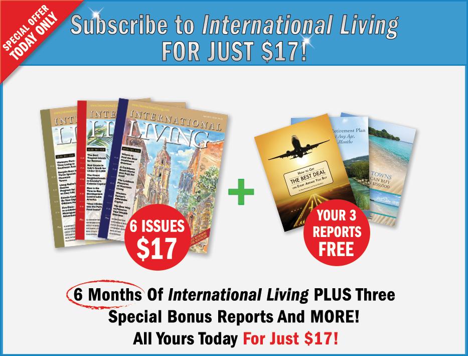 International Living's best deal